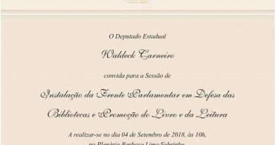 Frente Parlamentar – Convite