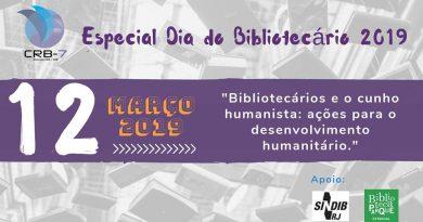 Especial Dia do Bibliotecário 2019