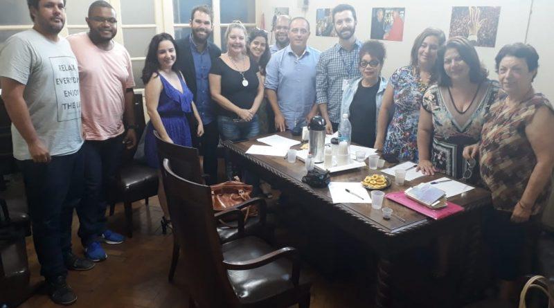 Reunião da Frente Parlamentar