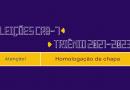 Eleições CRB-7 | Triênio 2021-2023 | Homologação de chapa