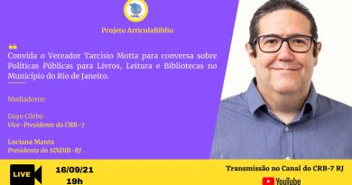 ArticulaBiblio – live com o Vereador Tarcísio Motta
